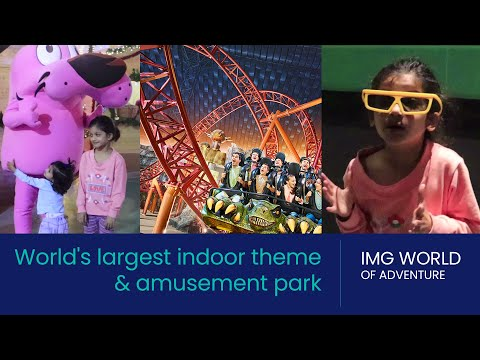 IMG WORLD OF ADVENTURE DUBAI| BEST INDOOR THEME PARK