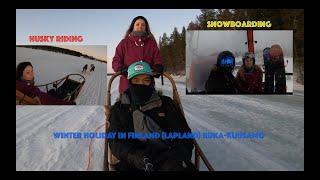 Winter Holiday In Ruka Kuusamo Lapland Finland (pinoypolish)