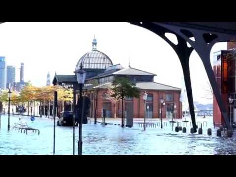 Schwere Sturmflut In Hamburg Am  29.10.17
