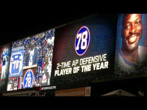 Bruce Smith Jersey Number Retired