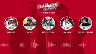 SPEAK FOR YOURSELF Audio Podcast (10.10.17) with Colin Cowherd, Jason Whitlock   SPEAK FOR YOURSELF