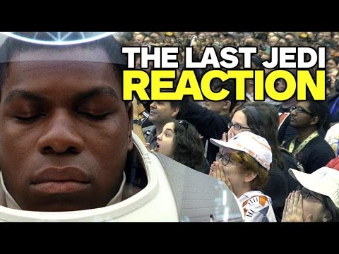 Thumbnail: Star Wars Celebration Reacts to The Last Jedi Trailer