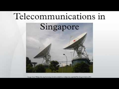 Telecommunications in Singapore