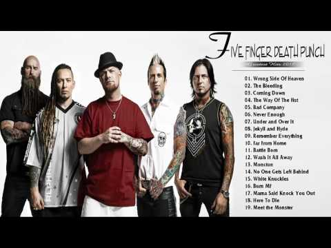 Five Finger Death Punch Greatest Hits  Top 30 Best Songs Of Five Finger Death Punch