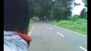 Bike racing on pali highway