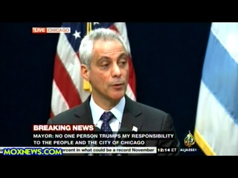 Chicago Mayor Fires Police Superintendent Over Cover Up Of Police Shooting
