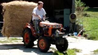 Pic Balle Round Baler pour Micro Tracteur Chez TDO, www.tracteur-occasion.com