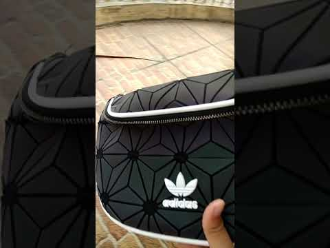 6ab094afa17f detail waist bag adidas Issey x Miyake Dazzle color - YouTube