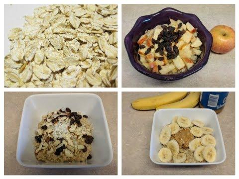Como Hacer Avena Para el Desayuno, 3 Opciones Diferentes!