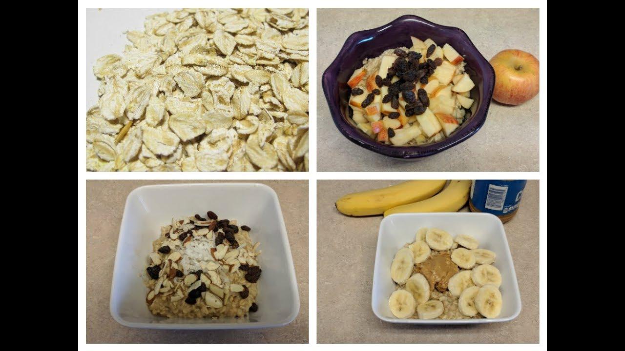 Como hacer un buen desayuno con avena