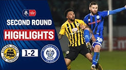 Morley Penalty Seals Third Round Spot | Boston United 1-2 Rochdale | Emirates FA Cup 19/20