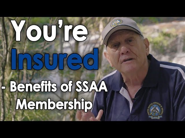 You're insured - benefits of SSAA membership
