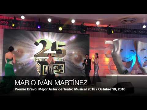 Premios Bravo: Mejor Obra Musical / Mejor Actor en Obra de Teatro Musical