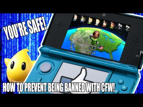 HOW TO PREVENT GETTING BANNED WITH CFW   Nintendo 3DS  