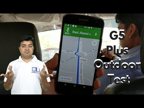 Moto G5 Plus Google Maps Navigation Test, Heating Overview | Gadgets To Use