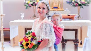 Bride Breastfeeds 2-Year-Old in Middle of Her Wedding