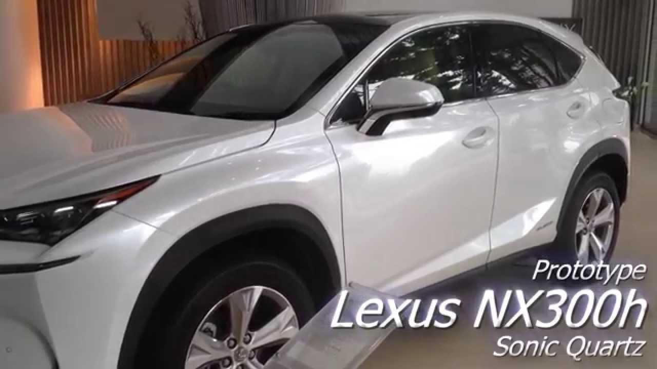 レクサス Lexus Nx 300h Sonic Quartz Youtube