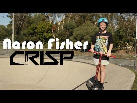 Crisp scooters welcomes | Aaron Fisher