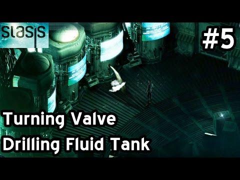 STASIS Walkthrough Let's Play Part 5 - Turning Valve - Drilling Fluid Tank - Using Freight Elevator