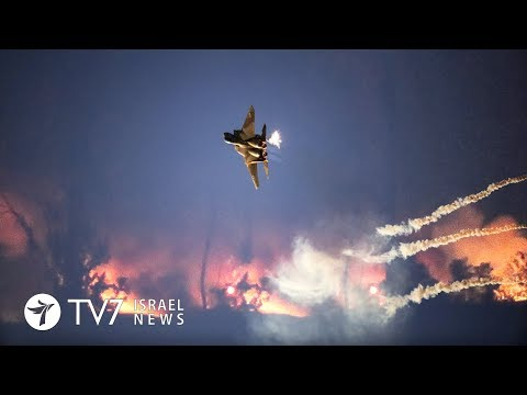 Israel strikes a Syrian research facility on the outskirts of Damascus TV7 Israel News 07.02.18