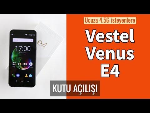 Vestel Venus E4 Kutu Açılımı