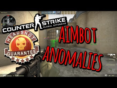 CSGO Aimbot Anomalies