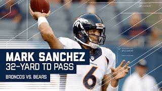 Mark Sanchez Finds Demaryius Thomas for Big TD | Broncos vs. Bears (Preseason) | NFL