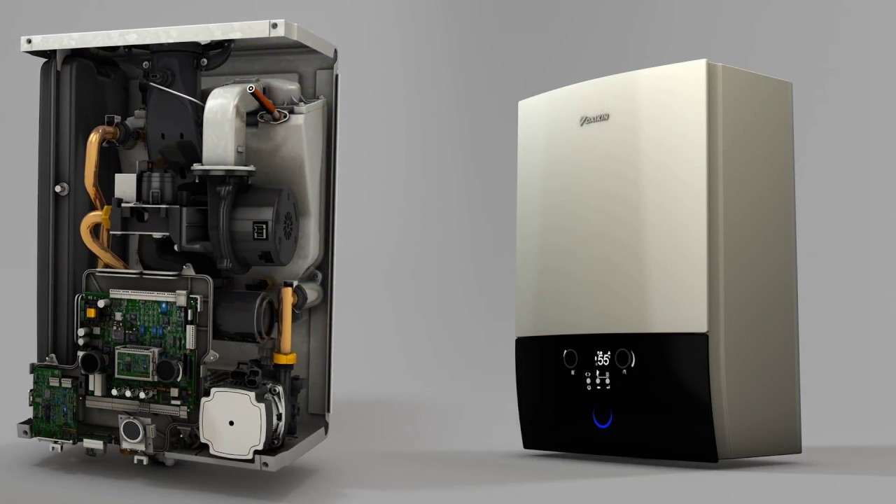 D2CND Gas boiler - YouTube