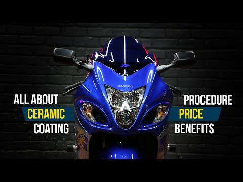 Getting Ceramic Coating on my Hayabusa!