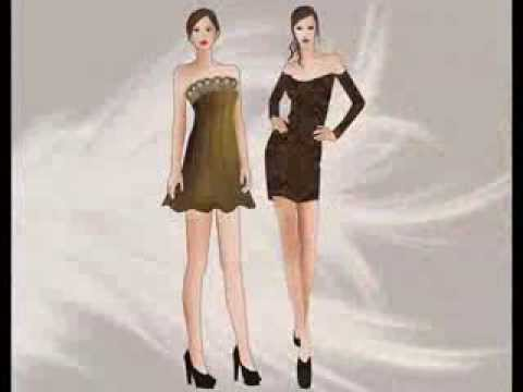My Fashion Design Portfolio Youtube