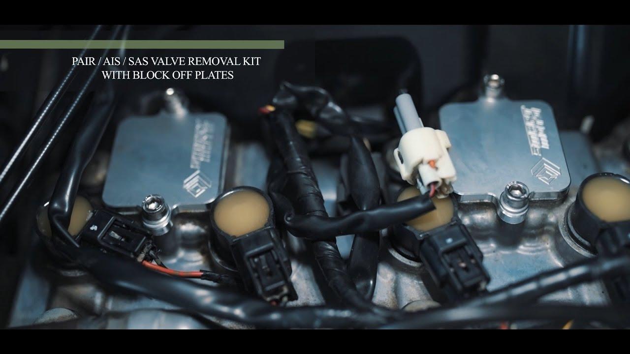 Download SmartMoto PAIR/AIS/SAS Valve Removal kits installation