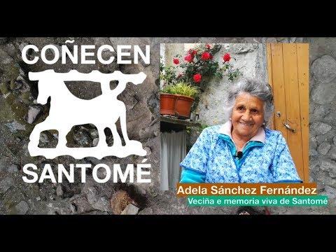 Coñecen Santomé: Adela Sánchez