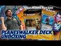 Insane Pack Opening! | Guilds of Ravnica Planeswalker Deck | Magic The Gathering Mtg