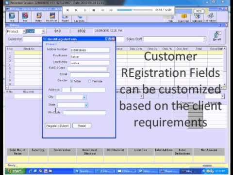 nTouch - Demo of Bill Capture, Integration with the POS Billing ...