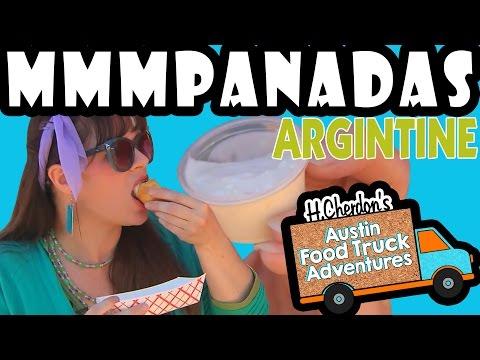 Mmmpanadas, Argentine & Vegetarian Empanadas, H.Cherdon's Austin Food Truck Adv. 2.40 Trucklandia