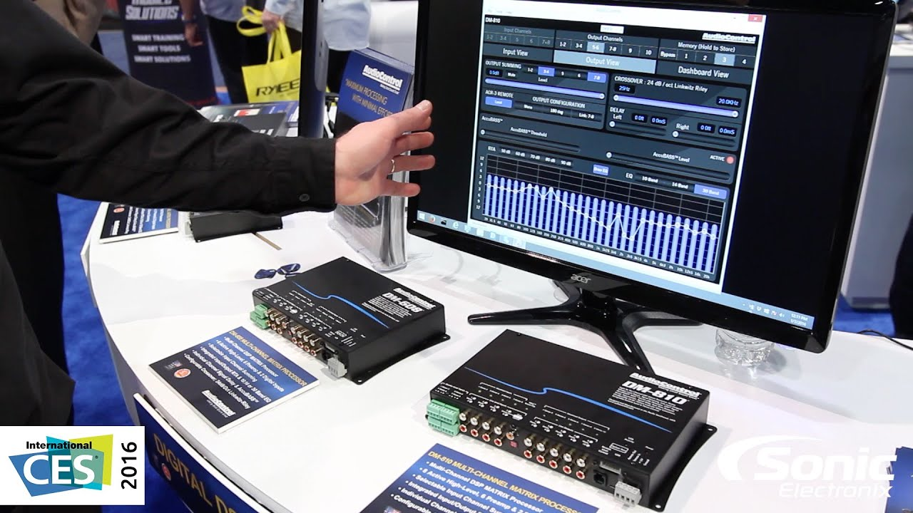 Audiocontrol New Hi Res Digital Signal Processors Dsp Dm 608