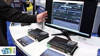 audiocontrol new hi res digital signal processors dsp dm 608 dm810 car audio ces 2016