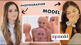 Photographer & Model REACT to BALD Americas Next Top Model Photoshoot