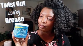 Blue Magic Conditioner Hair Grease Results (4 Type Hair)