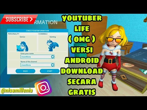 GAME MOD - CARA DOWNLOAD GAME YOUTUBERS LIFE MOD APK FREE FOR ANDROID ( UNLIMITED MONEY ) - 동영상