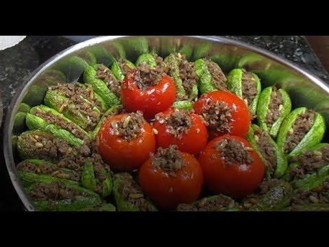 ابلما كوسا بطريقة مبتكرة وبدون حفر الكوسا (حصرياً لقناه اكلات لبنان)