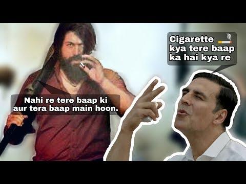 Rocky ( KGF ) Vs Akshay Kumar - 😂 Ultimate Roast 🔥ft. Smokers 🚬 thumbnail