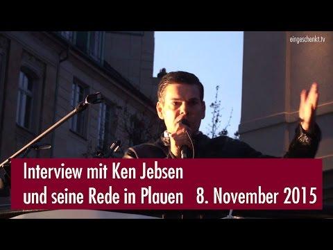 Interview mit Ken Jebsen und seine Rede in Plauen