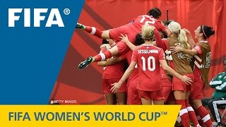 HIGHLIGHTS: Canada v. Switzerland - FIFA Women's World Cup 2015