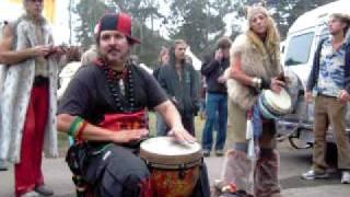 Power to the Peaceful 2009 - Hippie Drum Circle - San Francisco, California - Golden Gate Park