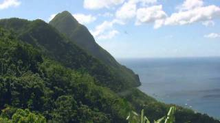 Soufriere, Pitons, Sulphur Springs, Ladera, Diamond Falls - St Lucia