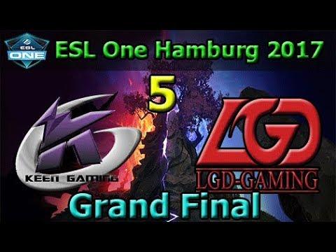 Keen Gaming vs LGD Game 5 | Grand Final | China Qualifier | ESL One Hamburg 2017