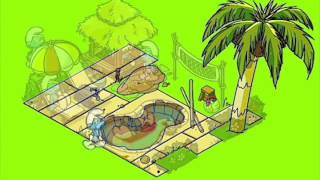 Smurfs Village: Explorer Smurf to the Island