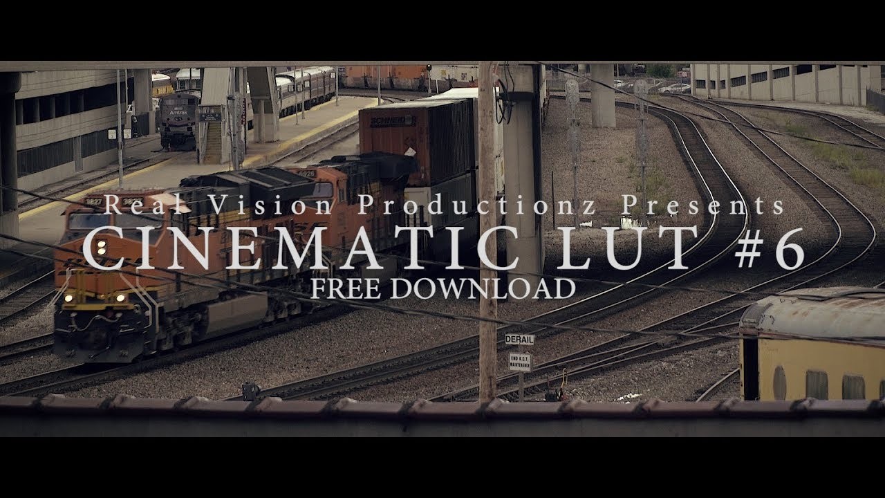 Cinematic Lut 6 Free Download Free Film Lut Film Look Youtube
