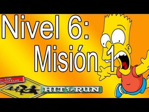 Los Simpsons Hit And Run: Nivel 6-Misión 1,Vamos A Los Lu (Español).